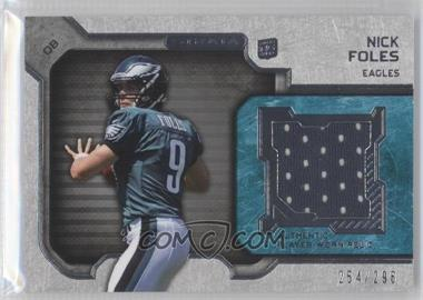 2012 Topps Strata - Rookie Relics #RR-NF - Nick Foles /296