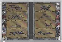 Doug Martin, Isaiah Pead, Lamar Miller, Ronnie Hillman, Doug Martin #/5