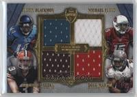 Michael Floyd, Brandon Weeden, Doug Martin, Justin Blackmon /10