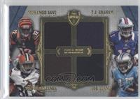 Mohamed Sanu, Travis Benjamin, TJ Graham, Joe Adams /10