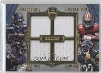 Robert Turbin, LaMichael James, Bernard Pierce, Chris Rainey /10
