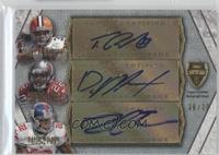 Trent Richardson, Doug Martin, David Wilson #/10