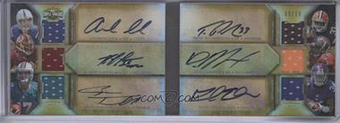 2012 Topps Triple Threads - Auto Relic Double Combos Book - Gold #TTARDC-4 - Andrew Luck, Robert Griffin III, Ryan Tannehill, Trent Richardson, Doug Martin, David Wilson /18