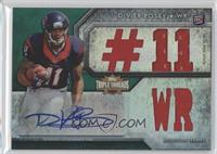 DeVier Posey #/50