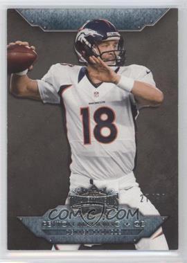 2012 Topps Triple Threads - [Base] - Onyx #100 - Peyton Manning /50
