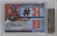 Ronnie Hillman (Number) /99 [BGS 9.5]