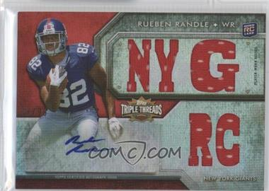 2012 Topps Triple Threads - [Base] #118.1 - Rueben Randle /99