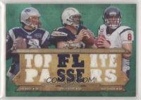 Tom Brady, Philip Rivers, Matt Schaub #/18