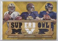 Drew Brees, Aaron Rodgers, Eli Manning /9