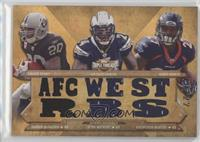 Darren McFadden, Ryan Mathews, Knowshon Moreno /27