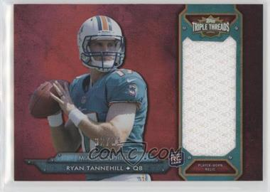 2012 Topps Triple Threads - Rookie Jumbo Relic #TTRJR-49 - Ryan Tannehill /99