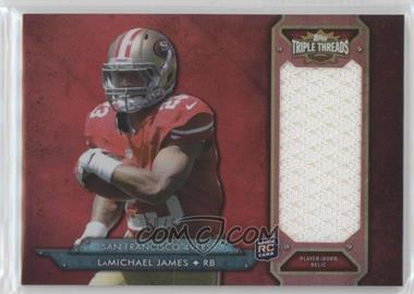 2012 Topps Triple Threads - Rookie Jumbo Relic #TTRJR-61 - LaMichael James /99