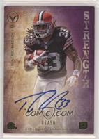 Trent Richardson [EX to NM] #/50