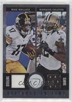 Marques Colston, Mike Wallace #/3