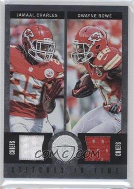 2012 Totally Certified - Stitches in Time Materials #36 - Dwayne Bowe, Jamaal Charles /199