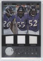 Terrell Suggs, Ed Reed, Ray Lewis /99