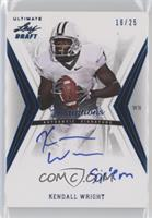 Kendall Wright #/25