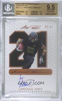 LaMichael James [BGS 9.5 GEM MINT] #/21
