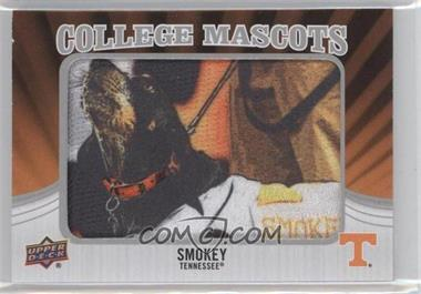 2012 Upper Deck - College Mascots Manufactured Patch #CM-46 - Smokey (Tennessee)