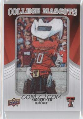2012 Upper Deck - College Mascots Manufactured Patch #CM-50 - Raider Red (Texas Tech)