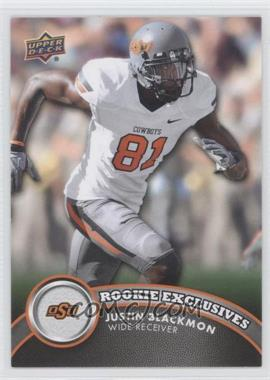 2012 Upper Deck - Rookie Exclusives #RE-JB - Justin Blackmon
