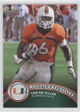 2012 Upper Deck - Rookie Exclusives #RE-LM - Lamar Miller