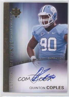 2012 Upper Deck - Ultimate Collection Ultimate Rookie Signatures #18 - Quinton Coples