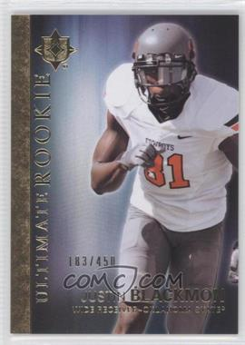 2012 Upper Deck - Ultimate Collection Ultimate Rookie #32 - Justin Blackmon /450