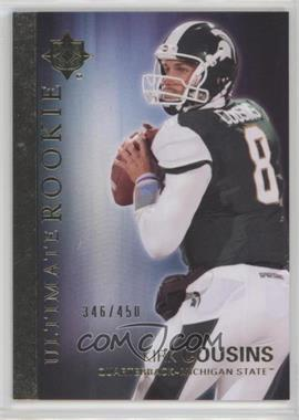 2012 Upper Deck - Ultimate Collection Ultimate Rookie #36 - Kirk Cousins /450