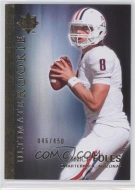 2012 Upper Deck - Ultimate Collection Ultimate Rookie #48 - Nick Foles /450