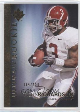 2012 Upper Deck - Ultimate Collection Ultimate Rookie #59 - Trent Richardson /450