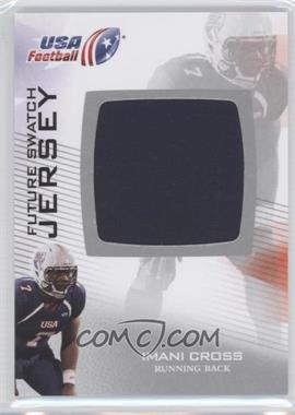 2012 Upper Deck USA Football - Box Set Future Swatch Jersey #FS-25 - Imani Cross