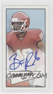 2013 Bowman - Autograph Mini Cards 1952 Design - [Autographed] #52B-BR - Bacarri Rambo