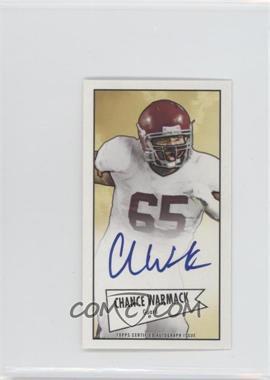 2013 Bowman - Autograph Mini Cards 1952 Design - [Autographed] #52B-CW - Chance Warmack