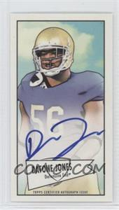 2013 Bowman - Autograph Mini Cards 1952 Design - [Autographed] #52B-DJ - Datone Jones