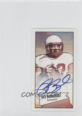 2013 Bowman - Autograph Mini Cards 1952 Design - [Autographed] #52B-RB - Rex Burkhead