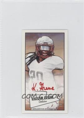 2013 Bowman - Autograph Mini Cards 1952 Design - Red Ink [Autographed] #52B-KG - Khaseem Greene /5