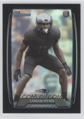 2013 Bowman - [Base] - Black Rainbow Foil #185 - Logan Ryan