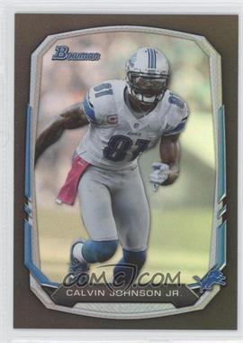 2013 Bowman - [Base] - Black Rainbow Foil #90 - Calvin Johnson
