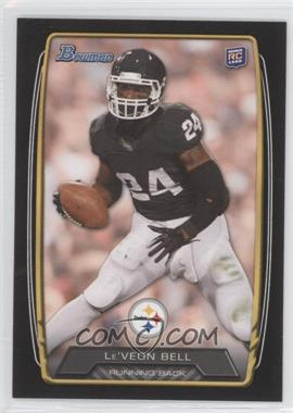 2013 Bowman - [Base] - Black #123 - Le'Veon Bell