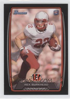 2013 Bowman - [Base] - Black #144 - Rex Burkhead