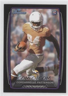 2013 Bowman - [Base] - Black #171 - Cordarrelle Patterson