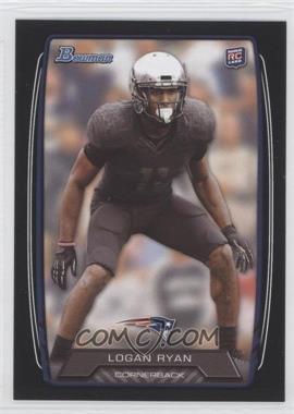2013 Bowman - [Base] - Black #185 - Logan Ryan