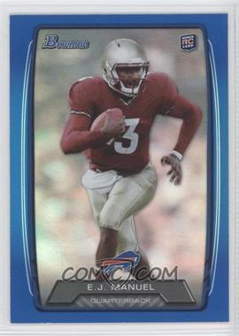 2013 Bowman - [Base] - Blue Rainbow Foil #127 - EJ Manuel /499