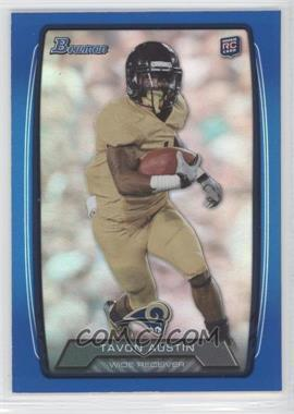 2013 Bowman - [Base] - Blue Rainbow Foil #130 - Tavon Austin /499