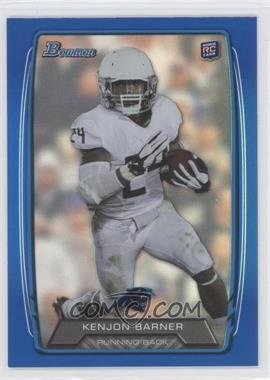 2013 Bowman - [Base] - Blue Rainbow Foil #157 - Kenjon Barner /499