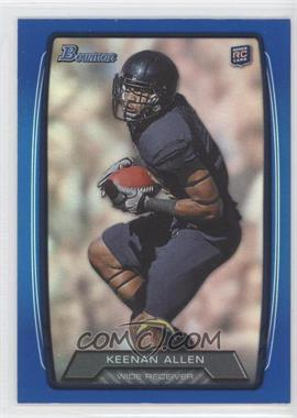 2013 Bowman - [Base] - Blue Rainbow Foil #175 - Keenan Allen /499
