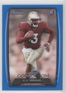 2013 Bowman - [Base] - Blue #127 - EJ Manuel /499