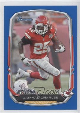 2013 Bowman - [Base] - Blue #14 - Jamaal Charles /99