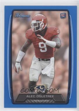 2013 Bowman - [Base] - Blue #187 - Alec Ogletree /499